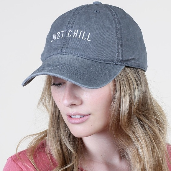 f49d3fa09 Altar'd State Accessories - Altar'd State Just Chill Canvas Baseball Cap